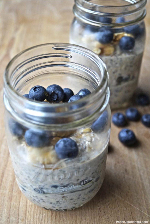 Blueberry Walnut Overnight Oats