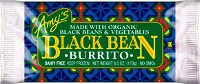 BLack Bean Burrito Amy's