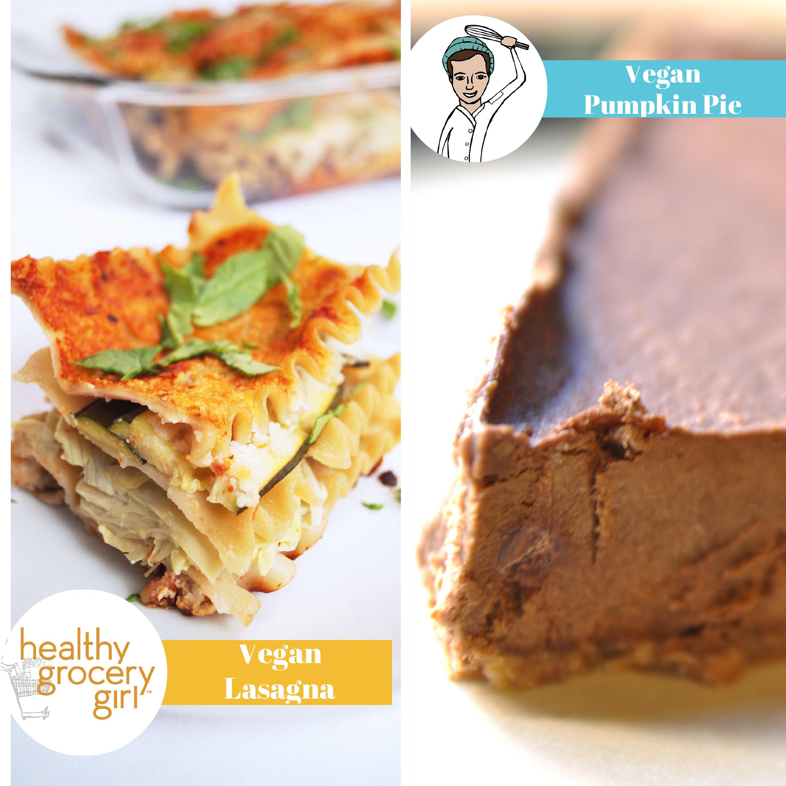 Pumpkin Pie Dessert Lasagna: Healthy Grocery Girl