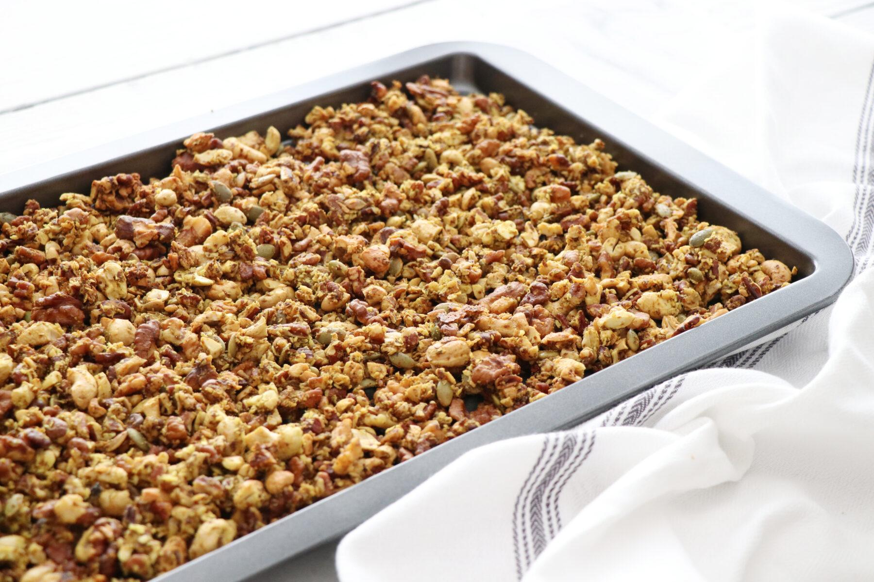 how to make paleo granola