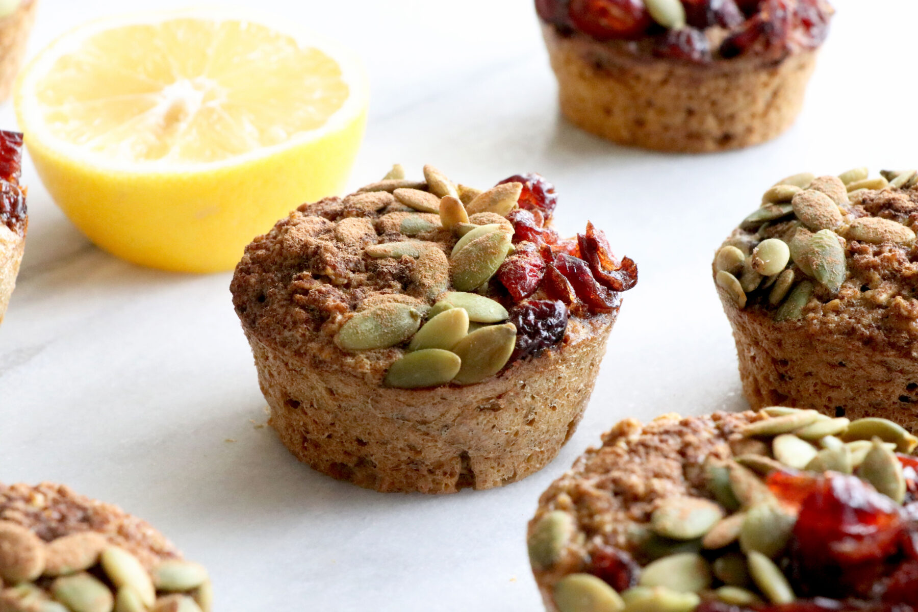 Lemon Oatmeal Breakfast Muffins Healthy Grocery Girl