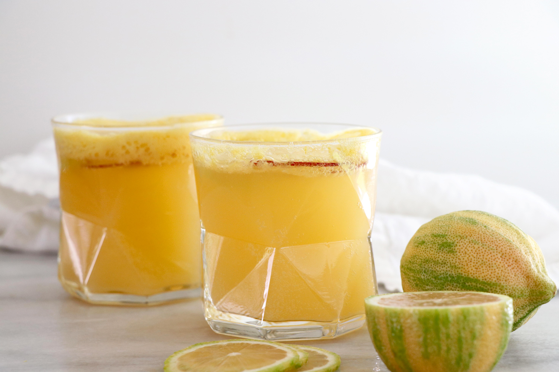 Sparkling Apple Ginger Lemonade Healthy Grocery Girl