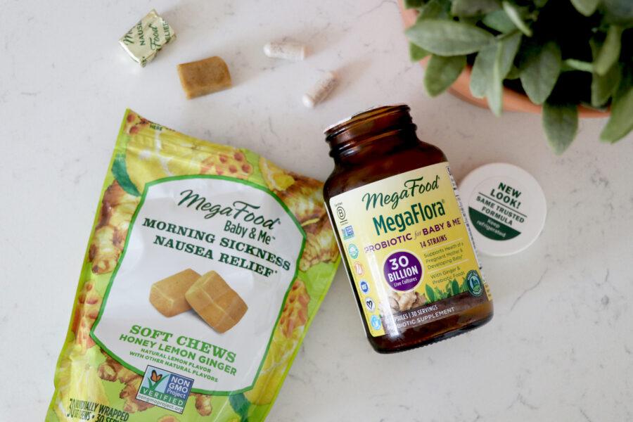Mega food probiotics and chews.